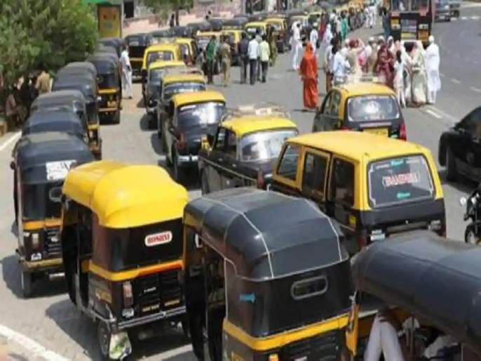 Rickshaw, taxi travel will be expensive! Thackeray government's positive response to organizations   रिक्षा, टॅक्सी प्रवास महागणार! ठाकरे सरकारचा संघटनांना सकारात्मक प्रतिसाद