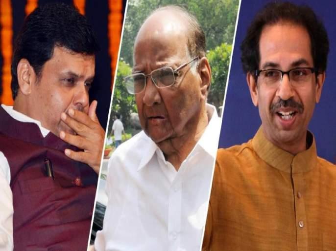 Its our political move; Sharad Pawar Reaction on Devendra Fadnavis statement over NCP Support BJP   ती आमची राजकीय चाल होती; देवेंद्र फडणवीसांच्या 'गौप्यस्फोटा'वर शरद पवारांचा 'स्फोट'