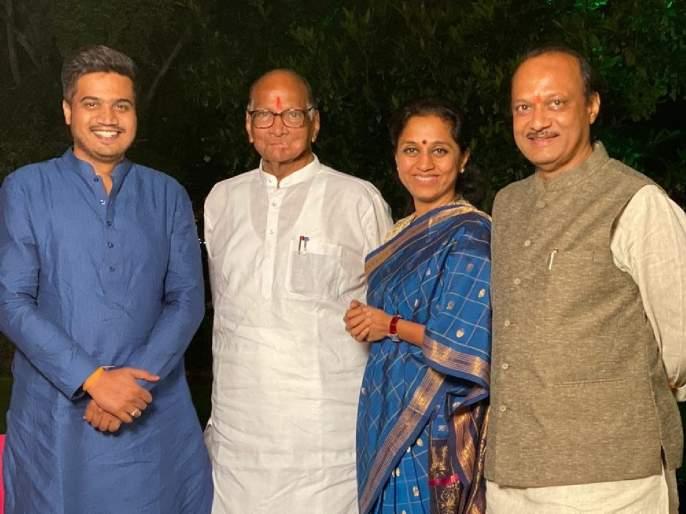 The big decision of the entire sharad Pawar family not to celebrate Diwali together this year   Sharad Pawar: यंदाची दिवाळी एकत्रित साजरी न करण्याचा संपूर्ण पवार कुटुंबाचा मोठा निर्णय