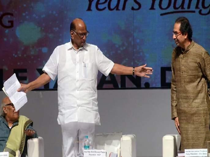 Did CM Uddhav Thackeray pass or fail in the mid-term examination ?; Sharad Pawar stated the result | सहामाही परीक्षेत मुख्यमंत्री उद्धव ठाकरे पास की नापास?; शरद पवारांनी सांगितला निकाल