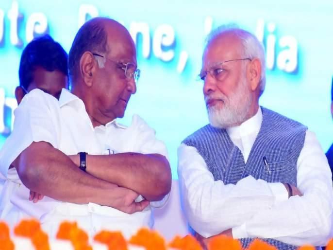 Sharad Pawar criticized PM Narendra Modi Statement in Samana Interview with Sanjay Raut | शरद पवारांकडून नरेंद्र मोदींच्या 'त्या' वक्तव्याचा समाचार; राजकारणात कुणी कुणाचाच गुरु नसतो, तर...