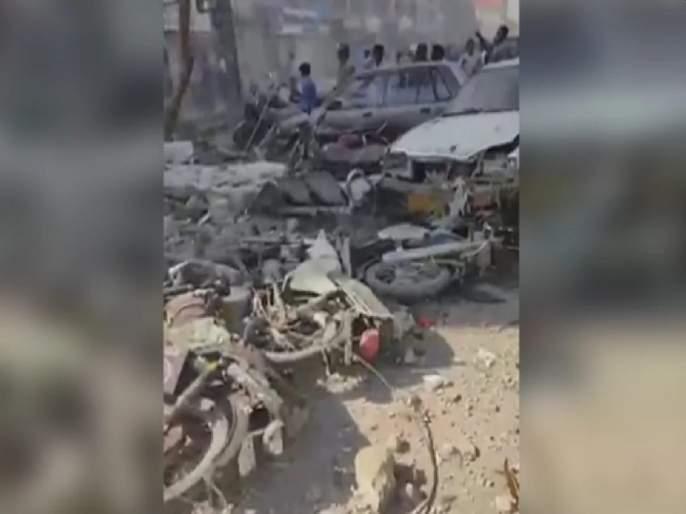 Big blast in Karachi, Pakistan; So far 3 people have been killed and 15 injured | Blast: पाकिस्तानच्या कराची शहरात मोठा स्फोट; आतापर्यंत ३ जणांचा मृत्यू तर १५ जखमी
