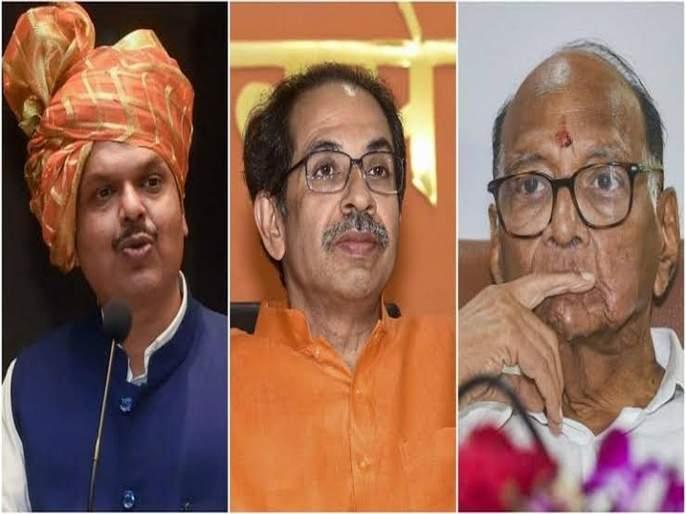 Maharashtra Election 2019: Devendra, Uddhav, Sharad Pawar, Sanjay Raut discuss WhatsApp group and establishment Viral in Social Media   देवेंद्र, उद्धव, शरद पवार, संजय राऊत यांचा व्हॉट्सअप ग्रूप अन् सत्तास्थापनेची चर्चा झाली Viral!