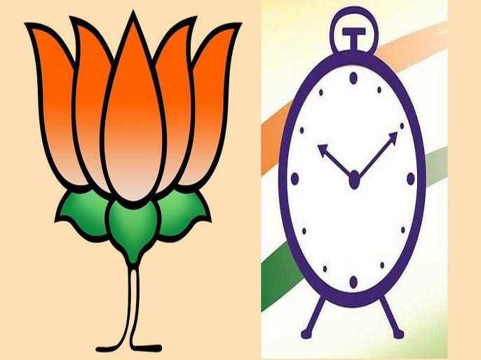 Maharashtra Election 2019: NCP Vote gone to BJP? The election official said that ... | महाराष्ट्र निवडणूक २०१९: नवलेवाडीत घड्याळाला दिलेले मत कमळाला? निवडणूक अधिकारी म्हणाले की...