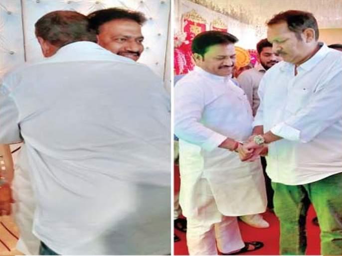 After the defeat in the elections, Udayan Raje said 'sorry'; But Shashikant Shinde gave the answer | पराभवानंतर उदयनराजेंनी म्हटलं 'सॉरी' चुकलो; पण शशिकांत शिंदेंनी दिलं 'असं' उत्तर