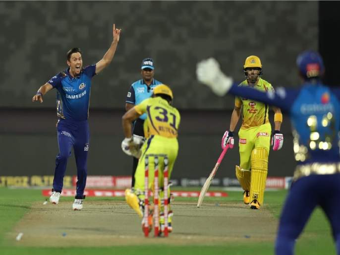 IPL 2020, CSK vs MI: Chennai Super Kings' big defeat from Mumbai Indians in IPL | IPL 2020, CSK vs MI:चेन्नई सुपर किंग्जचे मोठ्ठे पराभव मुंबईकडूनच; आयपीएलमध्ये पहिल्यांदाच घडलं