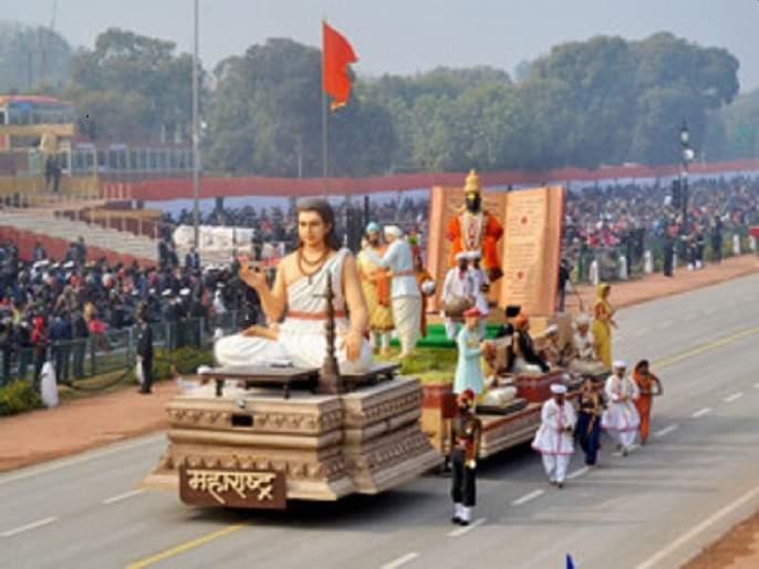 Maharashtra Chitrarath on Rajpath for 26th January Republic day parade | 'विठूचा गजर हरिनामाचा झेंडा रोविला' राजपथावर महाराष्ट्राचा चित्ररथ ठरला लक्षवेधी, संत परंपरेचे दर्शन