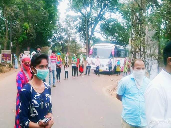 coronavirus: Finally they return home in Sindhudurg | coronavirus : अखेर त्या ३४ जणांची सिंधुदुर्गात घरवापसी