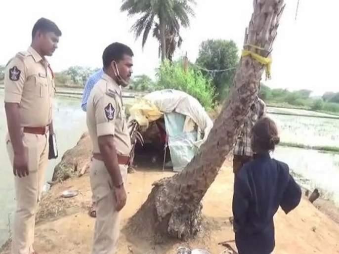 Man knocks wife unconscious buries her alive in Andhra Pradesh | ...अन् ७ वर्षाच्या मुलीने थेट पोलीस ठाणे गाठलं; घडलेला प्रकार ऐकून पोलीसही हादरले