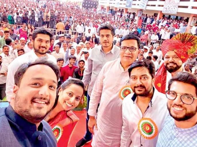 Young MLA to create caste-free new Maharashtra - Aditya Thackeray | तरुण आमदार जातीपातीमुक्त नवा महाराष्ट्र घडवतील -आदित्य ठाकरे