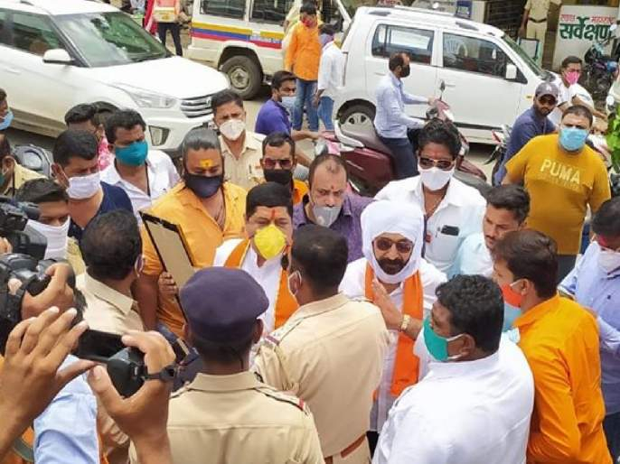 Ram Mandir: Police arrested MNS activists for pray Lord Rama without permission in aurangabad | Ram Mandir Bhumi Pujan: परवानगी नसताना प्रभू रामाचं पूजन केल्यानं मनसे कार्यकर्त्यांना पोलिसांनी केली अटक