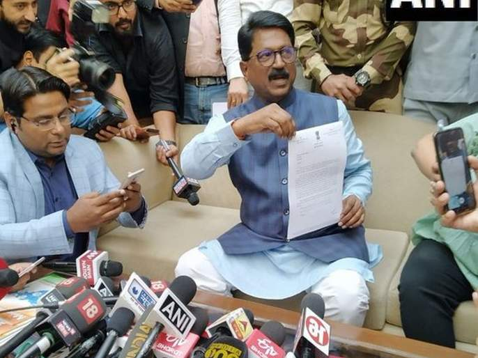 Maharashtra Election 2019: Shiv Sena finally left from NDA; Union Minister Arvind Sawant resigns to Narendra Modi | शिवसेना अखेर एनडीएतून बाहेर; केंद्रीय मंत्री अरविंद सावंत यांचा नरेंद्र मोदींकडे राजीनामा
