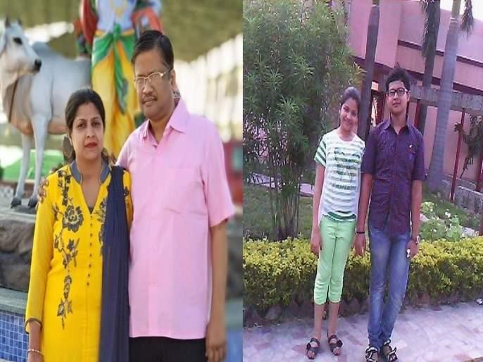 Businessmen Commits Suicide With Family In Varanasi | 'बाबा, आम्हाला झोपेची औषधं द्या मग गळा दाबून मारा'; तिघांची हत्या करुन बापाने केली आत्महत्या
