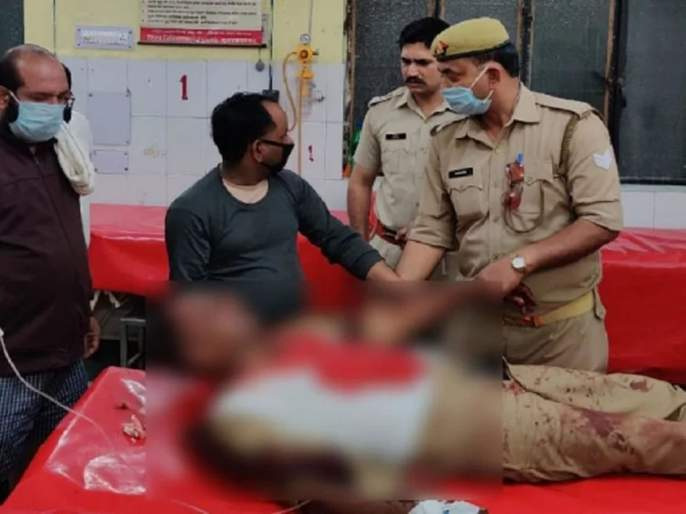 Coronavirus: Mob attacks on cops in lockdown in Uttar Pradesh; 3 policemen seriously injured pnm | Coronavirus: लॉकडाऊनचं पालन करणाऱ्या पोलिसांवर जमावाचा लाठीहल्ला; ३ पोलीस गंभीर जखमी