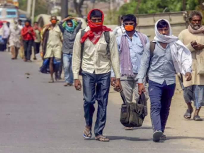 13 thousand 964 migrant laborers found in Palghar district; Team visits to 173 places   पालघर जिल्ह्यामध्ये आढळले १३ हजार ९६४स्थलांतरित मजूर;१७३ ठिकाणांना पथकांच्या भेटी