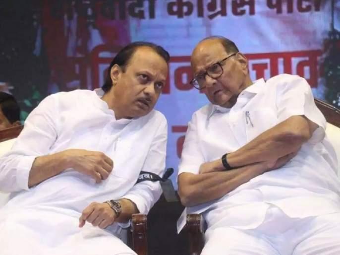With the entry of Eknath Khadse from BJP, one of the two ministers of NCP will have to resign? | एकनाथ खडसेंच्या प्रवेशानं राष्ट्रवादीच्या 'या' २ मंत्र्यांपैकी एकाला द्यावा लागणार राजीनामा?