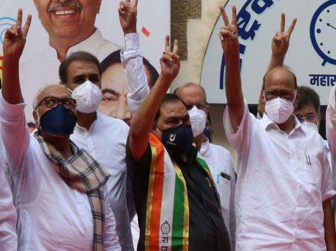 """""""Eknath Khadse is not such a strong leader, he could not elect his own daughter"""" BJP Prasad lad   """"एकनाथ खडसे इतक्या ताकदीचे नेते नाही, त्यांना स्वत:च्या मुलीला निवडून आणता आलं नाही"""""""