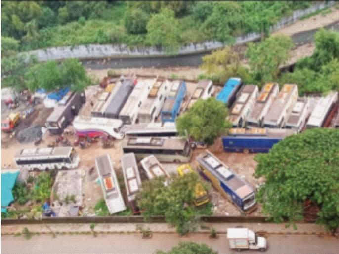 No agitation against unauthorized parking in the development area | ना विकास क्षेत्रातील अनधिकृत वाहनतळ विरोधात आंदोलन