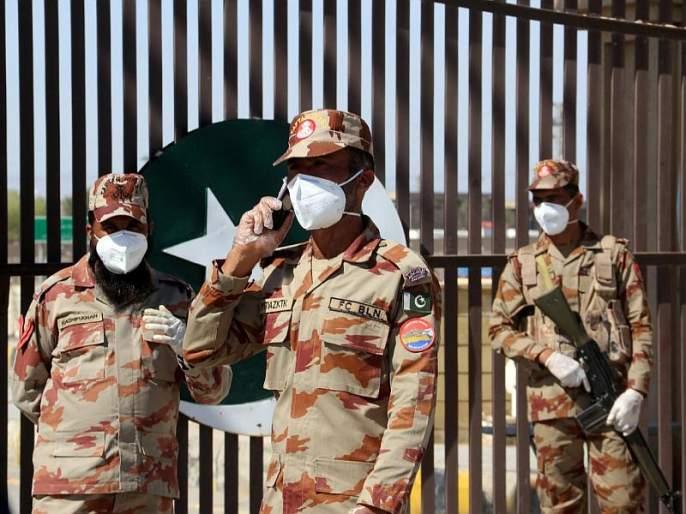 Corona virus infection in pakistan army sna | पाकिस्तानच्या सैन्यात शिरला कोरोना, 230 सैनिक आयसोलेशनमध्ये