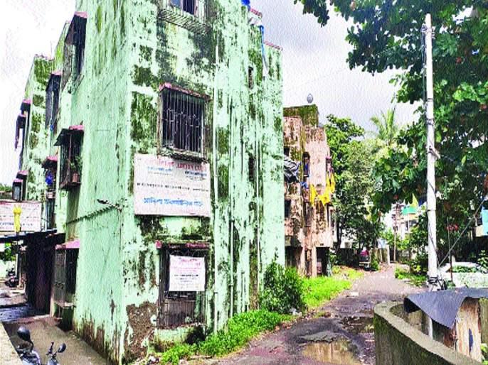 Notices sent by Gram Panchayat to 51 buildings in Sukapur area in Panvel | पनवेल परिसरातील सुकापूरमधील ५१ इमारती धोकादायक, ग्रामपंचायतीने पाठविल्या नोटिसा