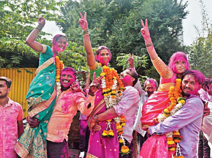 Maharashtra Gram Panchayat Election Results Dominance of local alliances three parties coming together but BJP is number one, claims Chandrakant Patil | Gram Panchayat Election Results: स्थानिक आघाड्यांचेच वर्चस्व; भाजप, काँग्रेसचा दावा - आम्हीच नंबर वन!