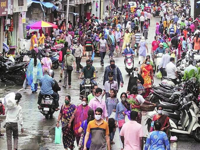 Corona Virus: Mumbaikars; Go shopping, be careful | Corona Virus : मुंबईकरांनो; खरेदीसाठी जाताय, काळजी घ्या