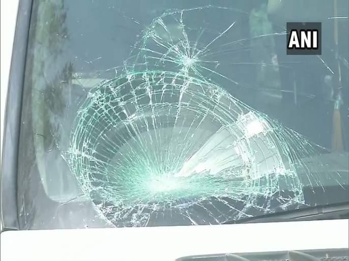 lok sabha elections clash between tej pratap yadav security and media patna | Lok Sabha Election 2019 : तेजप्रताप यादव यांच्या गाडीवर हल्ला