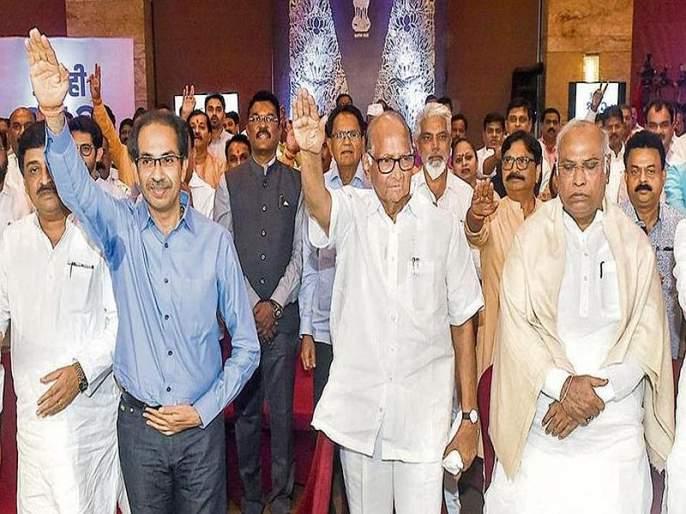 State Minister and Nationalist leader Jitendra Awhad has criticized the BJP   'कंबरेखाली वार केल्यामुळेराज्यात महाविकास आघाडीचे सरकार स्थापन झाले'