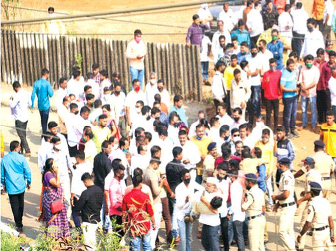 BJP dominates Newali, Malanggadwadi, Narhen village, under the control of Burdul NCP; Shiv Sena's supremacy in Badlapur rural | नेवाळी, मलंगगडवाडी, नाऱ्हेन ग्रा.पं.वर भाजपचे वर्चस्व, बुर्दूल राष्ट्रवादी काँग्रेसच्या ताब्यात; बदलापूर ग्रामीणमध्ये शिवसेेनेचा वरचष्मा
