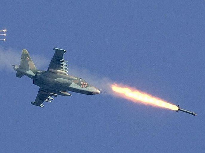 Russian air force airstrike in Syria kills 21 islamic state terrorist | सीरियामध्ये आता रशियाचं तांडव; 130 एअरस्ट्राइकमध्ये ISISचे 21 दहशतवादी मारले, शेकडो जखमी
