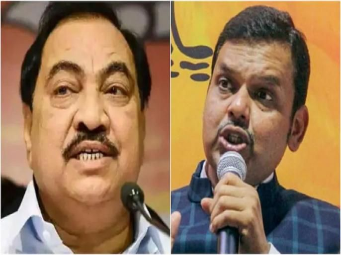 ... finally Khadse is gone! The strategy behind the displeasure is not only about the party leaders, but also about the Fadnavis | ...अखेर खडसे गेलेच! पक्षश्रेष्ठींविषयी नव्हे, केवळ फडणवीसांविषयीच्या नाराजीमागे रणनीती