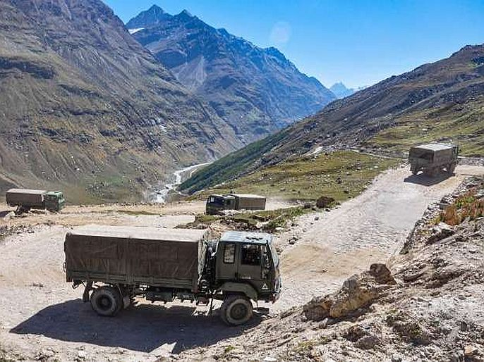 India reacts sharply to chinas new maneuver and rejects Chinas claim over lac in ladakh   India-China tension : 1959ची LAC आम्ही मानत नाही, चीनच्या वक्तव्यावर भारताचं चोख प्रत्युत्तर