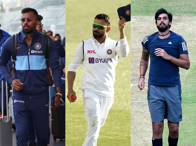 Hardik, Ishant's return, Akshar Patel in Test squad; Selection of Indian team against England | हार्दिक, ईशांतचे पुनरागमन, अक्षर पटेल कसोटी संघात;इंग्लंडविरुद्ध भारतीय संघाची निवड