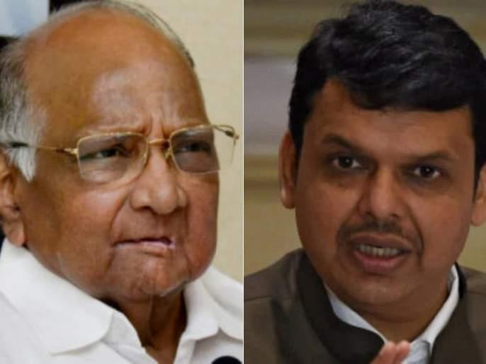Discussions were held with Pawar on the establishment of government says devendra fadnavis | सत्तास्थापना, खातेवाटपाची पवारांशी झाली होती चर्चा, देवेंद्र फडणवीस यांनी केला दावा