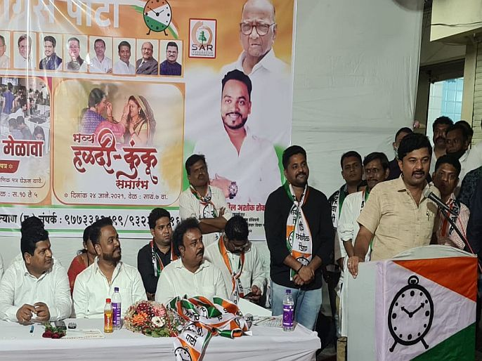 ..However Mehboob Sheikh came to Kalyan; BJP's 'it' warning was blown away | ..तरीही मेहबूब शेख कल्याणमध्ये आले; भाजपचा 'तो' इशारा फुसका ठरला