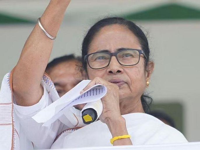 BJP leaders disappear in times of crisis Mamata's attack   संकटाच्या काळात भाजपचे नेते गायब होतात; राज्यात चक्रीवादळ आले तेव्हा कुठे होते? ममतांचा हल्लाबोल