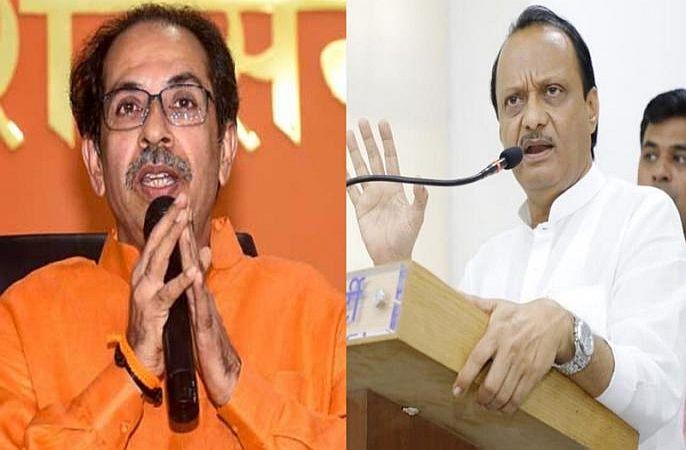 Why Ajit Pawar opposed Shivsena, back story about Pawar Fadanvis early morning oath ceremony | ...म्हणून शिवसेनेच्या नेतृत्त्वातील आघाडीला होता अजित पवारांचा विरोध!; पुस्तकातून खळबळजनक दावा