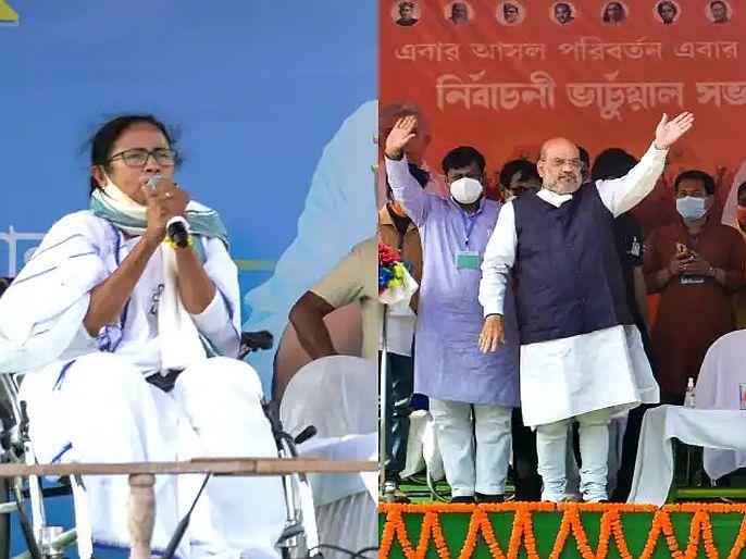bengal election permission for roadshow cancelled says election commission of india | CoronaVirus : पश्चिम बंगालमध्ये निवडणूक आयोगानं घातली रोड शोवर बंदी, सभांसाठीही असेल लोकांची मर्यादा