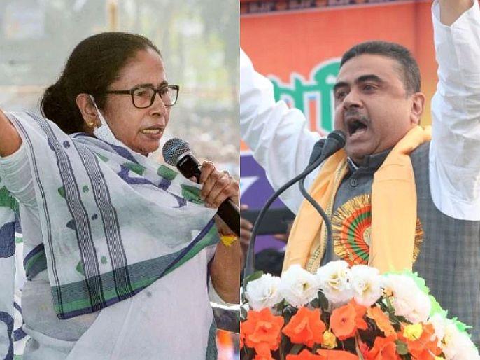 West bengal assembly election 2021 bjp candidate list decleard Mamata Banerjee vs Suvendu Adhikari in Nandigram | नंदिग्राममध्ये ममता-शुभेंदू अधिकारी यांच्यात रणसंग्राम, भाजपनं जाहीर केली उमेदवारांची पहिली यादी