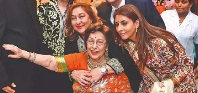 ritu nanda passes away raj kapoor daughter and amitabh bachchan daughter shweta bachchan nanda mother-in-law passed away | राज कपूर यांची लेक रितु नंदा यांचे निधन; कपूर कुटुंबावर दु:खाचा डोंगर