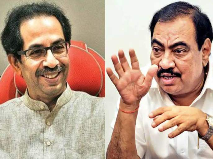 cm uddhav thackeray reaction after ncp declares bjp leader eknath khadse joining party | चांगली गोष्ट, कुटुंब अन् आनंद; खडसेंच्या राजीनाम्यावर मोजकंच बोलले मुख्यमंत्री ठाकरे