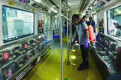 Hariom of Mumbai Metro to run from tomorrow with 50% rounds | मुंबई मेट्रोचे पुनश्च हरिओम, ५० टक्के फेऱ्यांसह उद्यापासून धावणार, मोनो आजपासून सेवेत रुजू