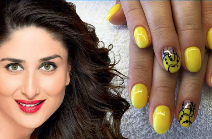 Beauty: Kareena Kapoor's 'Ha' Nailpaint color is favored! | Beauty : करिना कपूरचा 'हा' नेलपेंट कलर आहे फेवरेट !