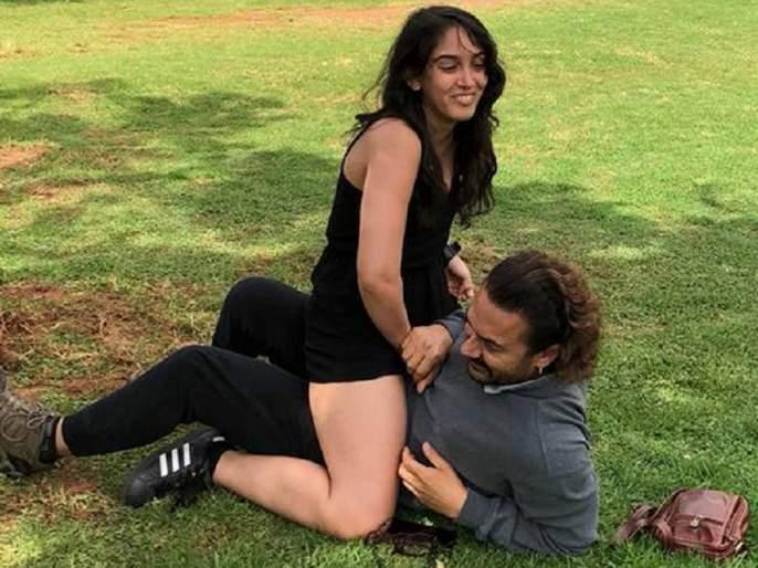 Aamir Khan shared photo with Era! People have said something shameful !! | आमिर खानने शेअर केला मुलगी इरासोबतचा फोटो! लोकांनी म्हटले काही तर लाज बाळग!!
