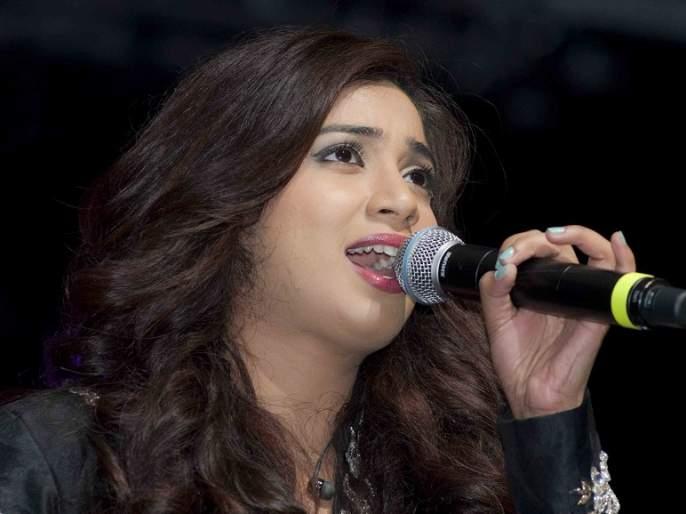 Singer Shreya Ghoshal wants to sing 24 hours singing? | गायिका श्रेया घोषाल हिला करायचेय २४ तास गायन?