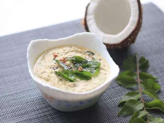 Coconut chutney coconut chutney is beneficial for the whole family here is the recipe   खमंग, चटपटीत खोबऱ्याची चटणी; चवीला मस्त, झटपट होईल फस्त
