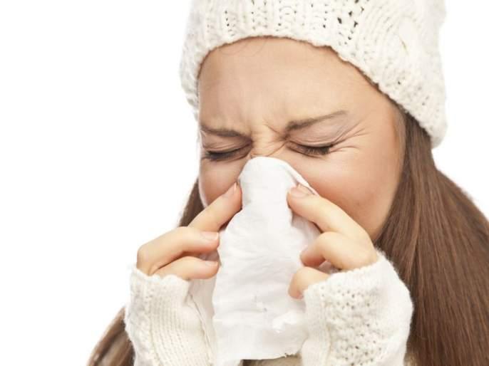 Use these things to open the closed nose   सर्दीमुळे बंद झालेलं नाक मोकळं करण्यासाठी करा 'हे' उपाय!