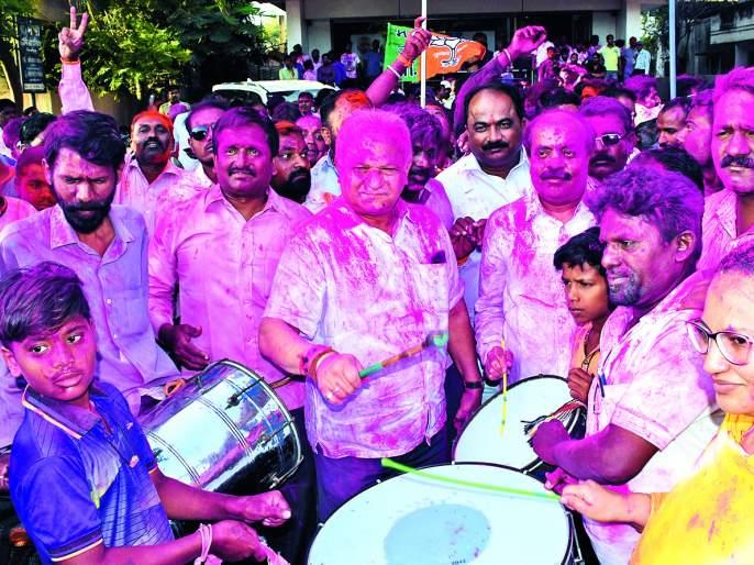 BJP's vote-breakthrough in the caucus of Congress | कॉँग्रेसच्या बालेकिल्ल्यात भाजपचे मताधिक्य निर्णायक