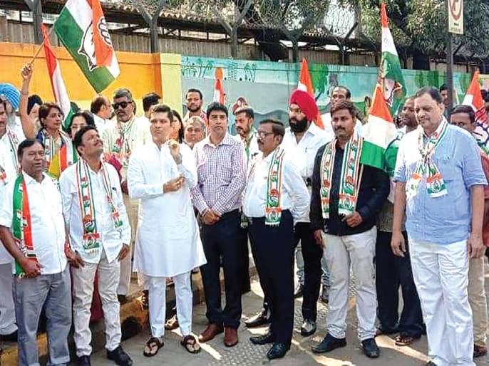 Congress protests against govt | सरकार विरोधात काँग्रेसची निदर्शने
