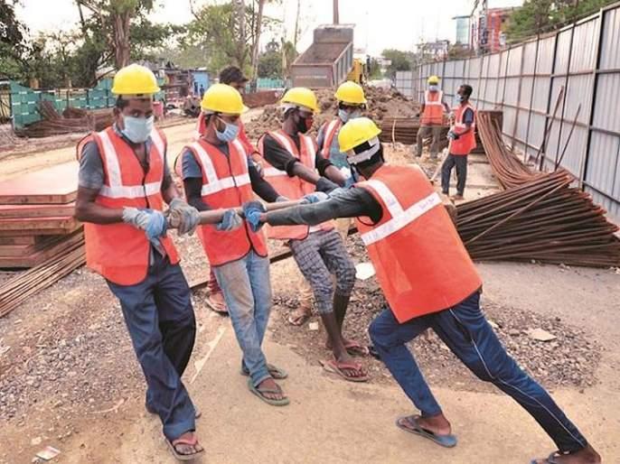 utensils worth rs 890 crore for construction workers in the state   अबब! राज्यातील बांधकाम मजुरांना 890 कोटींची भांडीकुंडी!
